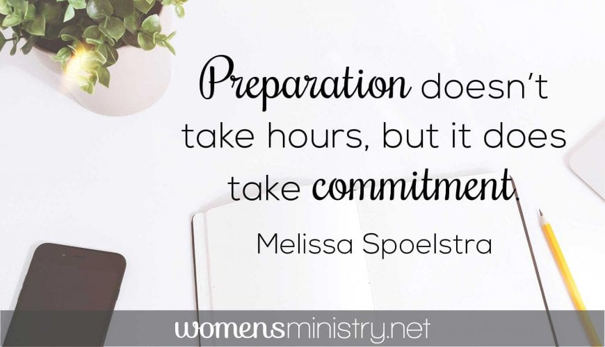 Practical Help in Preparation and Procrastination