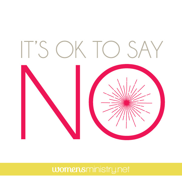 Don't Say Yes to Everything