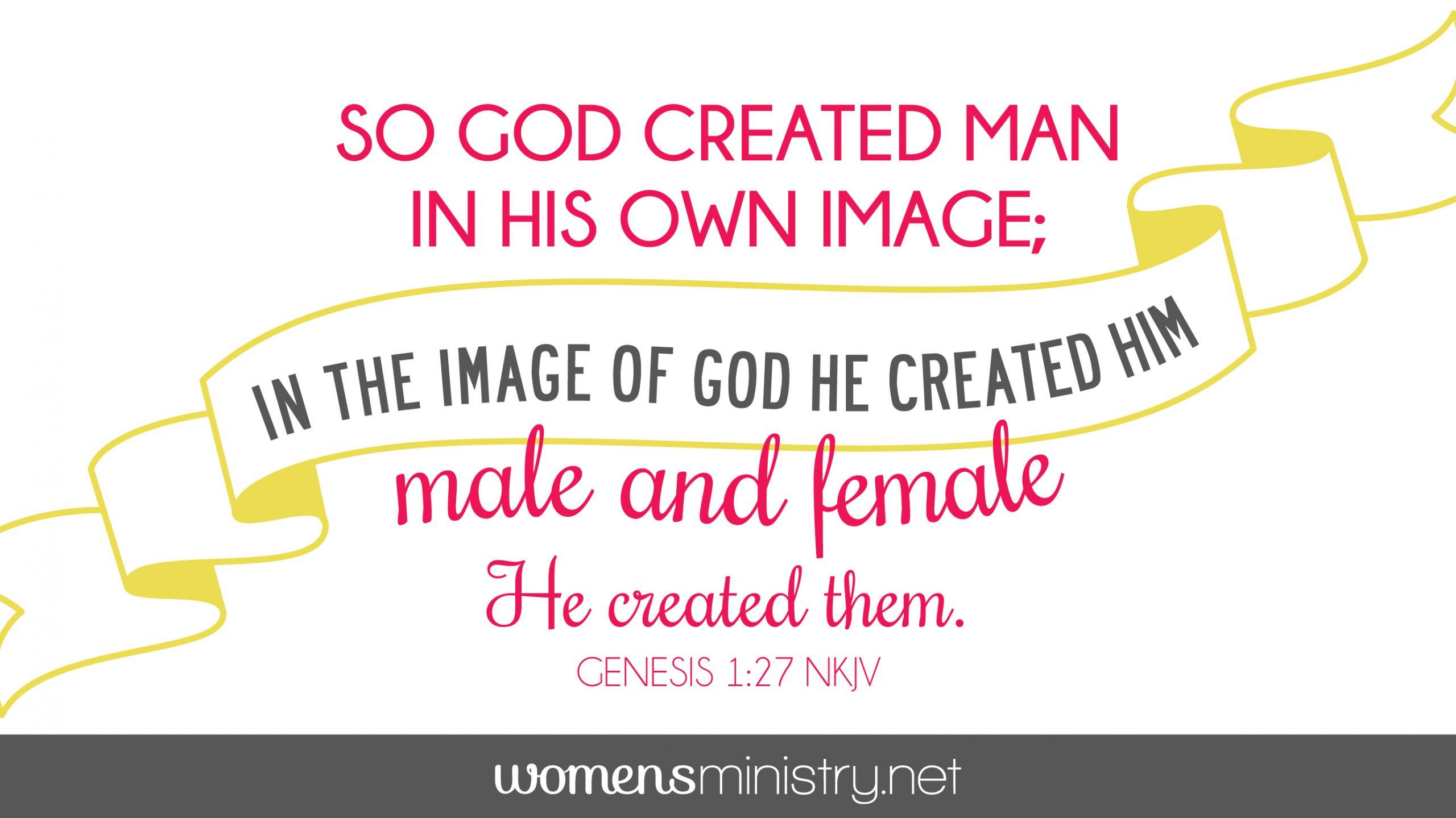 Genesis 1:27 image