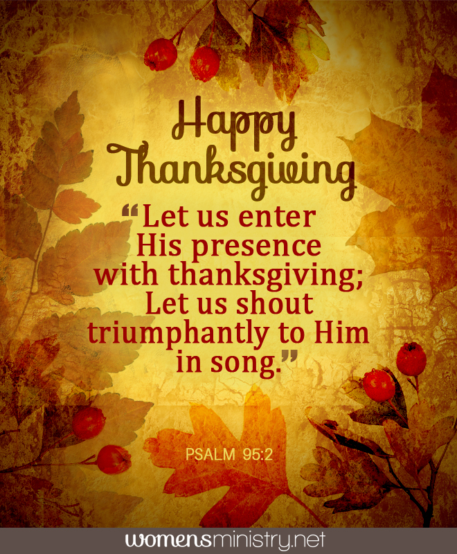 Thanksgiving Image with verse