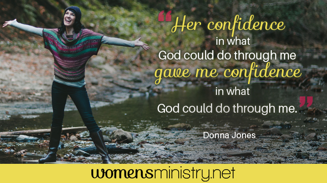 Donna Jones confidence quote image