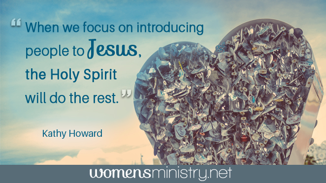 focus on introducing to Jesus quote image