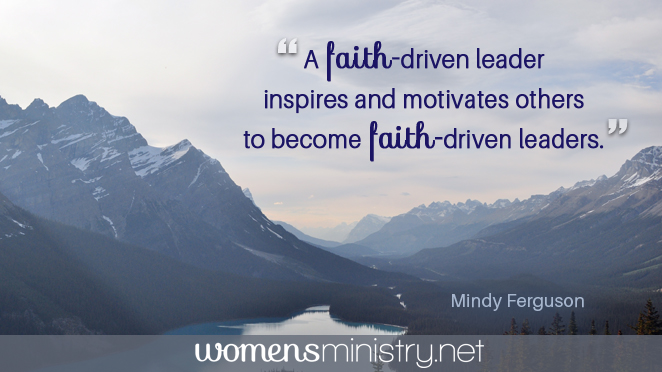 faith-driven leader quote image