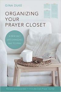 Organizing Your Prayer Closet cover