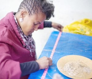 Fashion and Compassion Ethiopia artisan