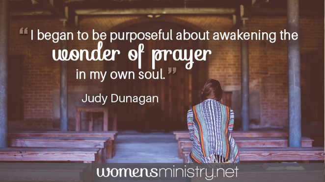 Judy wonder of prayer quote image