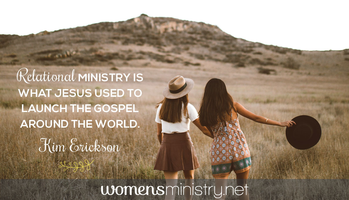 relational ministry quote image